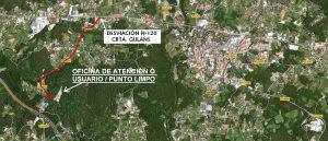 Mapa foto punto limpo